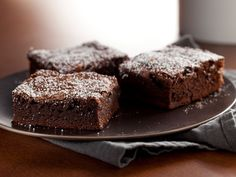 Everyday Brownies recipe from Nigella Lawson via Food Network