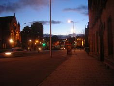 In Dundee city centre, February 2011.