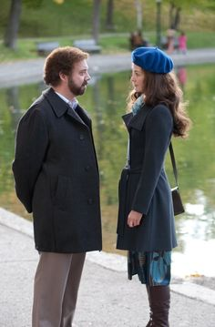 Barney's Version (2010). Could Rosamund Pike be any lovelier? Such a bittersweet movie. Cry every time...