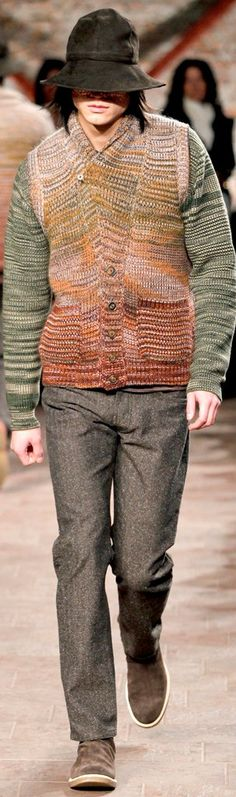 Missoni Menswear Fall-Winter