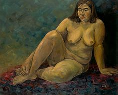 NUDE. 116.7x91.0 cm. Oil on canvas. 1997.