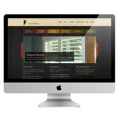 Custom Wordpress Design, Stone's Shutters, mobile-friendly, SEO friendly Wordpress Design
