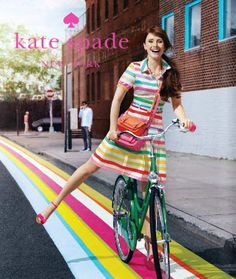 ad campaign from kate spade.