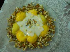 Mango Balls with Yogurt & Nutty Dry Fruits