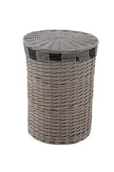 Hamptons Round Laundry Basket - Extra Large RRP $65