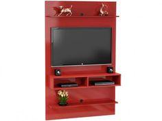 Painel para TV até 47 3 Prateleiras - Móveis Bechara Vega com as melhores condições você encontra no Magazine Dgarras. Confira!
