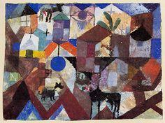 Paul Klee Zoo 1918