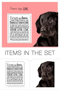 """LOVE."" by doglower on Polyvore featuring art"