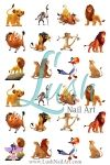 The Lion King Nail Art Water Transfer Decal - Waterslide Paper - Water Slide Paper - $2.45