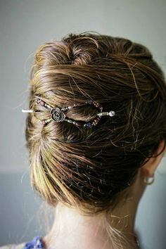 A gorgeous French twist! So easy to create with a flexi clip from Lilla Rose! #flexicliphairstyles