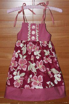 Garden Tea Party dress - Little Goose