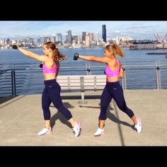 TBB Style Dumbbell Workout! Outfit b