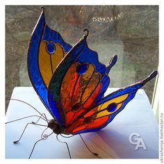 Interior Items handmade. Decoration for interior 'Butterfly'. Gala jewelry (ukrashenija). Online shopping on My Livemaster. Tiffany