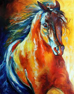 """Thunder Magic"" par Marcia Baldwin"