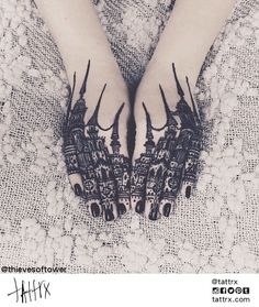 tattrx, @thievesoftower, tattoos, north carolina tattoo artist, blackwork, macabre, gothic, goth, tattoo, greensboro, thieves of tower
