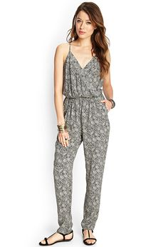 Jessica Simpson Plus Size Alyce Printed Illusion Jumpsuit - Jumpsuits & Rompers - Plus Sizes - Macy's Curvy Fashion, Fashion Beauty, Fashion Looks, Latest Fashion, Womens Fashion, Trendy Plus Size, Passion For Fashion, Leggings Are Not Pants, Latest Trends