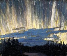 Northern Light 1916 by Tom Thomson