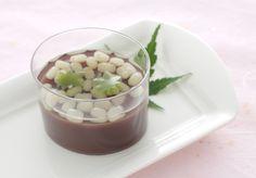 水ようかん Mizu yōkan (Soft adzuki-bean jelly)