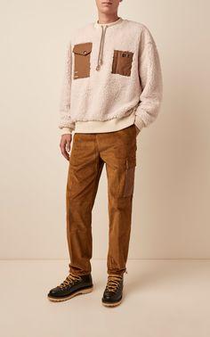 Payden Cotton-Corduroy Wide-Leg Pants by Acne Studios Milan Fashion Weeks, New York Fashion, Paris Fashion, Stockholm Street Style, Paris Street, Wearable Blanket, Studio S, Wide Leg Pants, Acne Studios