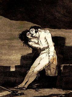 El amor y la muerte Goya
