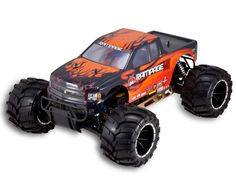 1:5 Scale Rampage MT V3 Gas RC Monster Truck 2.4GHz Remote Control Orange New