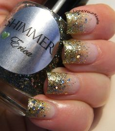 Shimmer Erica glitter gradient