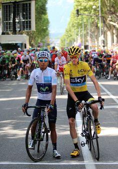 Tour de France 2015. Gap. Quintana et Froome. La bataille des Alpes. #myhautesalpes #tourismepaca © Photo Pat.Domeyne/Juillet 2015