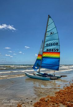 Sailing in Galveston, TX