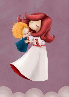 Love Ilustration by Jelena Brezovec, via Behance