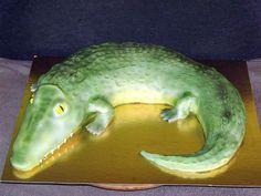Krokodil torta