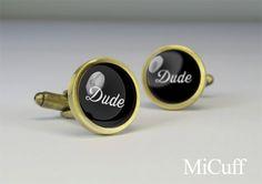 Dude cufflinks