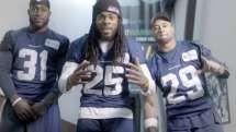 Seahawks' Legion of Boom welcomes Nelson Cruz