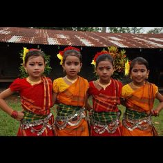 Girls from Bangladesh by Compassion International