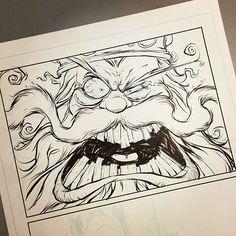 Photo by skottieyoung Cartoon Drawings, Cartoon Art, Art Drawings, Skottie Young, Character Art, Character Design, Shetland, Monkey Art, Graffiti Characters