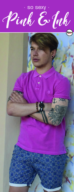 Frühling/Sommer 2018 I © Foto urheberrechtlich geschützt! I LOOK seen by MODE VON FEUCHT I Label: MARC O´POLO Seen, Marc O Polo, Crochet Necklace, Pink, Fashion, Pictures, Fashion Styles, Moda, Pink Hair