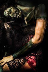 #brideoffrankenstein #anoivadefrankenstein #makeup #bodypainting #marciodesideri #makeupme