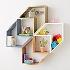 60 Creative DIY Projects Furniture Living Room Table Design Ideas 50 – Home Design Unique Wall Shelves, Wall Shelves Design, Unique Wall Decor, Unique Bookshelves, Wall Shelving, Shelving Units, Ikea Shelves, Wall Bookshelves, Living Room Furniture