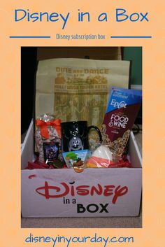 Disney in a Box - Disney in your Day