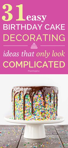 31 easy and impressive cake decorating ideas that only look complicated