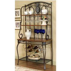 Bakers Racks - Ivy Hill Collection Baker's Rack by Cramco | Dining FurnitureSource.com #kitchensource #pinterest #followerfind