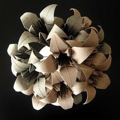 Papiroflexia para decorar [] Decorating with origami