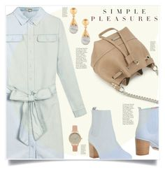"""Simple Pleasures"" by captainsilly ❤ liked on Polyvore featuring Opening Ceremony, Kastur Jewels and Topshop"