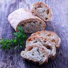 Quick bread - Make crusty bread in no time!  All you need is a bowl and a fork. #foodgawker