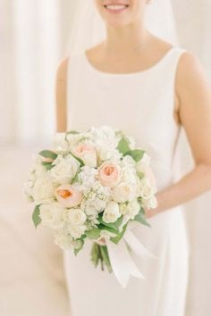 Featured Photographer: Elizabeth Fogarty; wedding bouquet idea