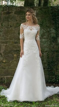 Wedding Dress 44058 by Sincerity Bridal - Search our photo gallery for pictures of wedding dresses by Sincerity Bridal. Find the perfect dress with recent Sincerity Bridal photos. Wedding Dress Pictures, Dream Wedding Dresses, Bridal Dresses, Bridesmaid Dresses, Sincerity Bridal Wedding Dresses, Rustic Wedding Gowns, Wedding Photos, Modest Wedding Gowns, Gown Wedding