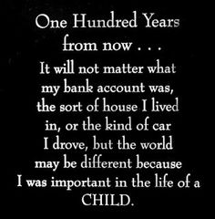 For the parents who took the risks to adopt or foster an orphan train rider, yes, it was important.  It made a difference!
