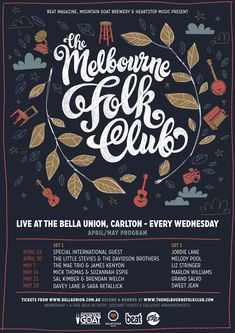 australian music festival posters - Google Search