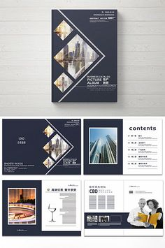 Real estate Brochure design#pikbest#templates Company Brochure Design, Brochure Design Layouts, Page Layout Design, Design Portfolio Layout, Corporate Brochure Design, Magazine Layout Design, Graphic Design Layouts, Graphic Design Posters, Flyer Design