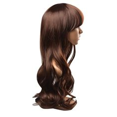 FIXSF395 pretty fashion long brown Hair health fashion wigs for Women Wig #Unbranded