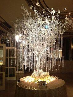 Diy de como fazer árvore francesa para decorar seu casamento ou festas